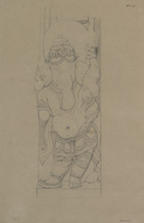 Plate 11. Sculpture of Ganesh from temple of Nilkanth